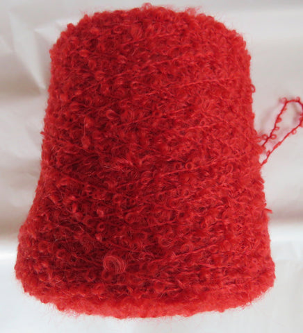 SPECIAL - MOHAIR BOUCLE vs 2 - SCARLET