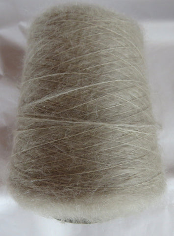 SPECIAL - BRUSHED MOHAIR - Stone