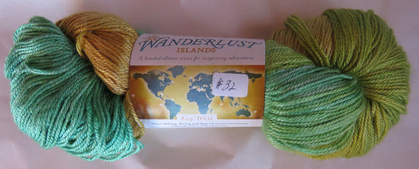 Hand Maiden Wanderlust Islands - Sea Silk Plush - Key West
