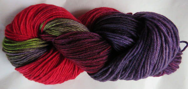 Special - SW Merino 4 Ply Berry Delight 80