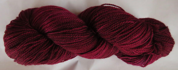 Fine  Merino - Fine Sport Weight Yarn -  Wine
