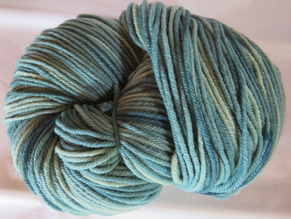 Targhee Wool - BULKY Weight - Blue/Green 2036