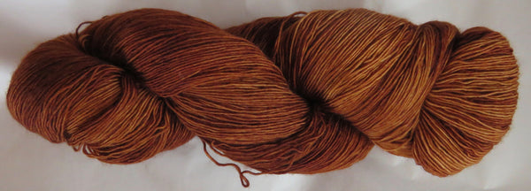 Fine  Merino - Lace Weight Yarn -  Dark Honey