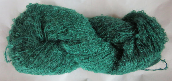 Mohair Loop - Medium Boucle - Green Lot 17