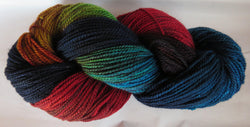 Fine Merino - Fine Sport Weight Yarn -  Nightshade 21