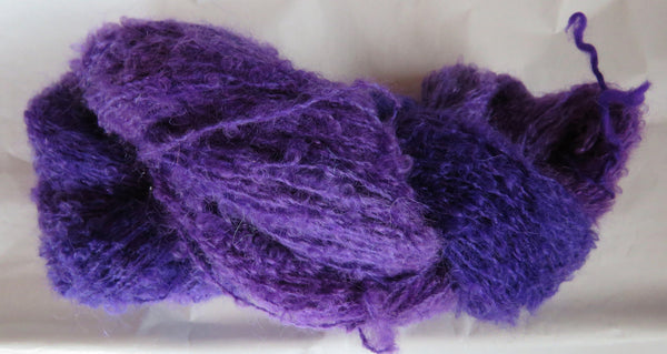 Mohair Loop - Medium Boucle - Purples
