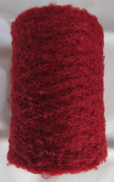 SPECIAL - MOHAIR BOUCLE vs 2 - Red