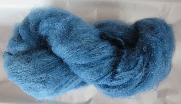 Brushed Mohair - Colonial Blue