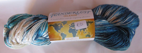Hand Maiden Wanderlust Islands - Sea Silk Plush - Maldives