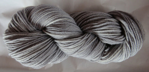 Fine Organic Merino - Worsted Weight  - Silver 19-01