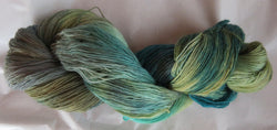 Fine  Merino - Lace Weight Yarn -  Sea Oak
