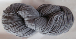 Fine Organic Merino - Worsted Weight  - Grey I-KK