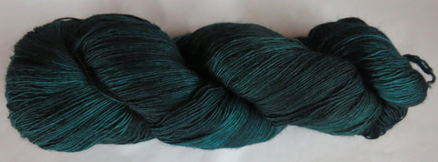 Fine  Merino - Lace Weight Yarn -  Tourmaline