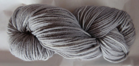 Fine Organic Merino - Worsted Weight  - Silver 17-10