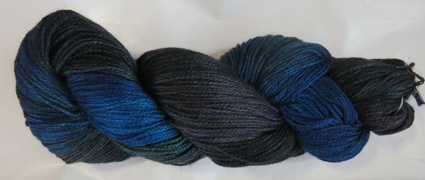 Hand Maiden Camelspin - Swiss Mountain Silk - Cache Lake 20