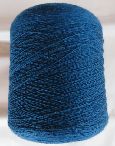 SPECIAL - Fine LACE  - Single Ply WOOL &  MOHAIR - Blue