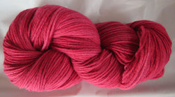 Fine Organic Merino - Worsted Weight  - Red I-G