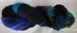 Fine Merino - Fine Sport Weight Yarn -  Common Grackle 21