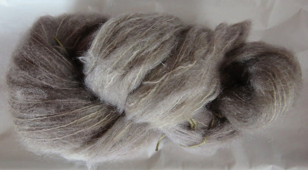 Brushed Mohair - Lavender Haze