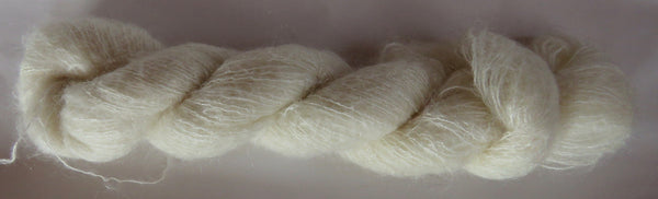 Brushed Kid Mohair/Silk - Natural