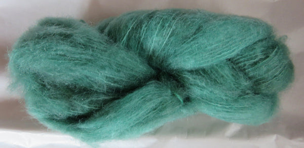 Brushed Mohair - Emerald
