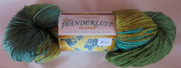 Hand Maiden Wanderlust Islands - Sea Silk Plush - Fiji