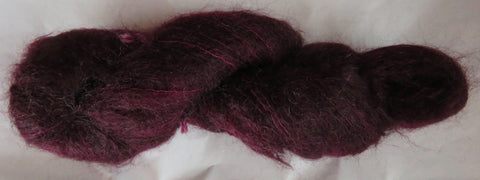 Brushed Kid Mohair - Burgundy 17-14