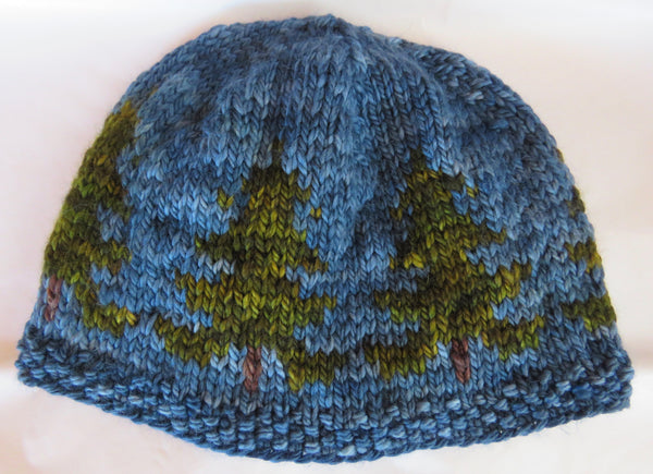 Pattern  2001 - White Pines Hat - SW Merino - Bulky