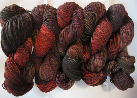 Merino DK Single Ply - Autumn Earth 81
