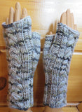 Pattern  2005 - Fingerless Mittens w Cables vs 2 - SW Merino - Bulky