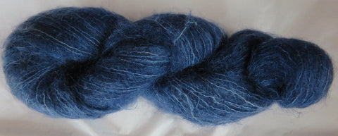 Brushed Kid Mohair - Blue B-12