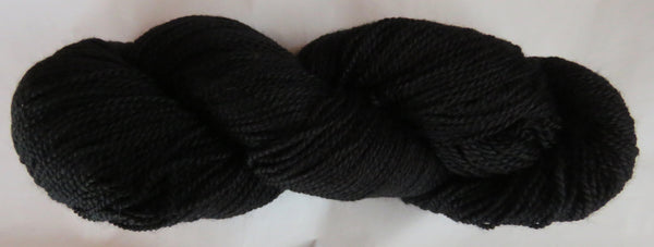 Fine  Merino - Fine Sport Weight Yarn -  Black