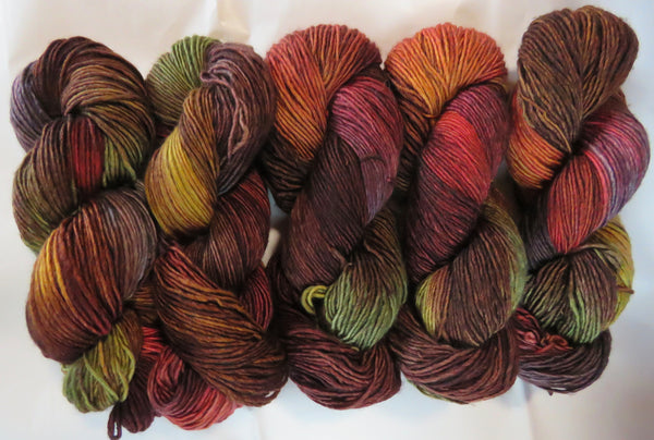 Merino DK Single Ply - Autumn Earth #3 (80)