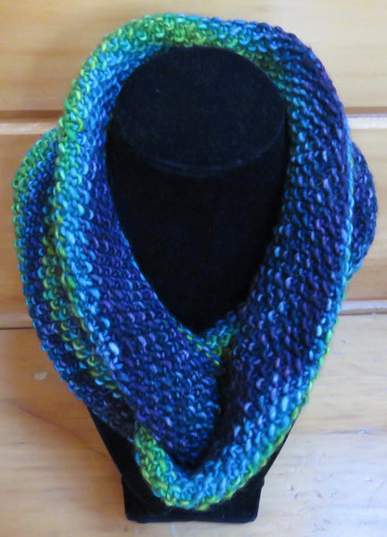 Cowl - Double Twist Mobius Cowl - The Heath (Finished Product)