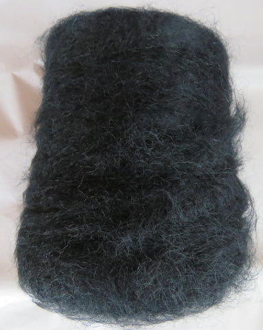 SPECIAL - BRUSHED FINE MOHAIR - Black