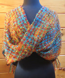 Mobius Shawl in Fleece Artist Silkylocks - Sedona