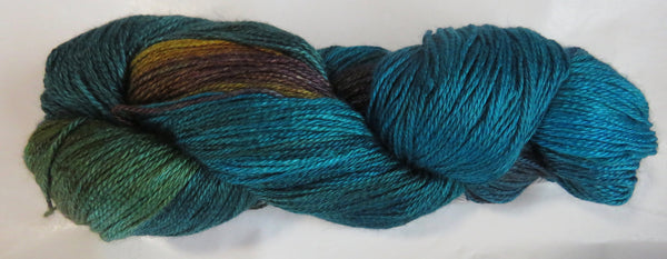 Hand Maiden Camelspin - Swiss Mountain Silk - Peacock 20