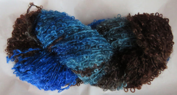 Mohair Loop - Medium Boucle - Winter Blues