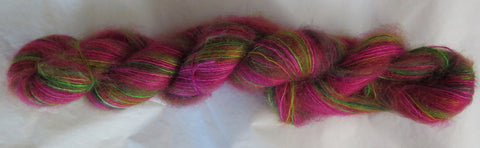 Brushed Kid Mohair/Silk - Hot Roses 2021