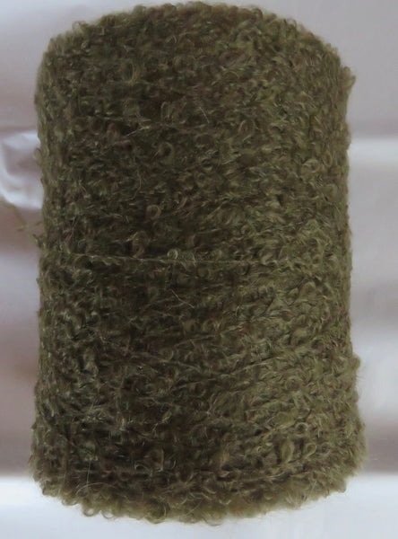 SPECIAL - MOHAIR BOUCLE vs 2 - Dark Sage
