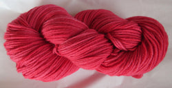 Fine Organic Merino - Worsted Weight  - Red I-MM
