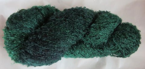 Mohair Loop - Medium Boucle - Green - Lot 1-17