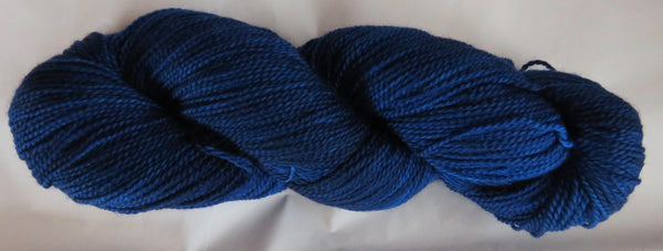 Fine  Merino - Fine Sport Weight Yarn -  Royal Blue
