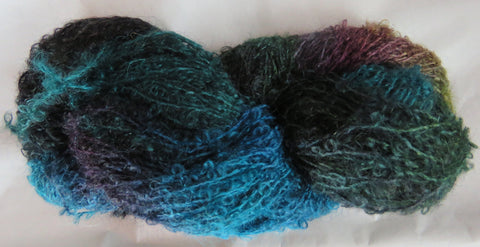 Mohair Loop - Medium Boucle - Peacock