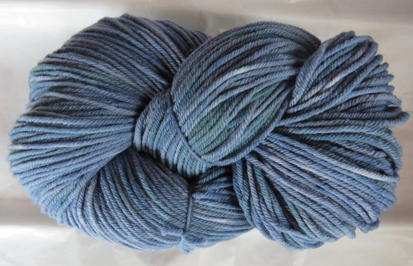 Targhee Wool - BULKY Weight - Blues (Twilight)