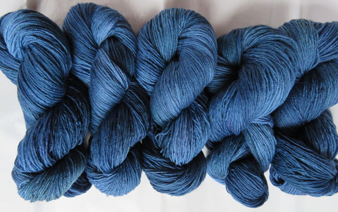 BFL Fingering - Colonial Blue A3