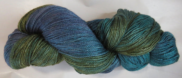 Hand Maiden Camelspin - Swiss Mountain Silk - November Sky 20