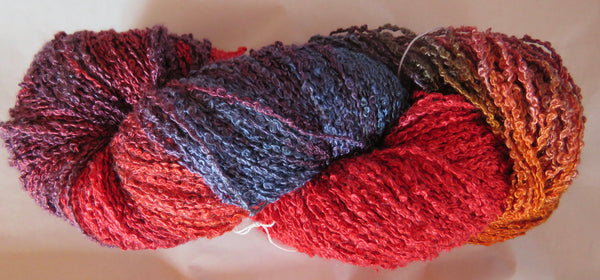 Hand Maiden Rumple - Swiss Mountain Silk - Boucle - Phoenix
