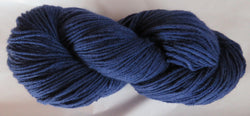 Fine Organic Merino - Worsted Weight  - NAVY I-B