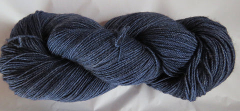 Yak/Silk/Merino - Fingering Weight - Blue 17-9